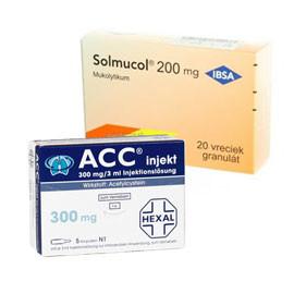 Mukolytiká a ich účinná látka N-acetylcysteín