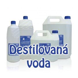 Bezpečná destilovaná voda na čistenie inhalátora