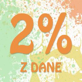 2% pre slané deti v roku 2015